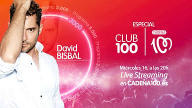 David Bisbal ofrece este miércoles el CLUB 100