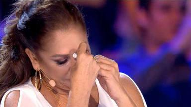 Isabel Pantoja llora