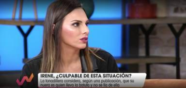 Irene Rosales se defiende en Viva la vida