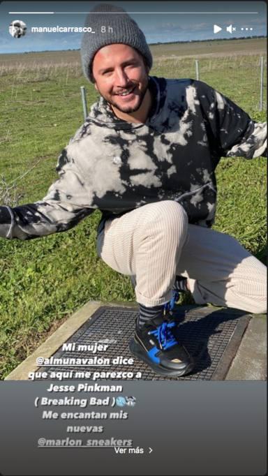 Manuel Carrasco en Instagram