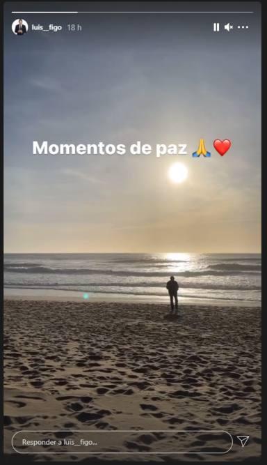 La cruda reflexión de Luis Figo tras la dura pérdida que ha sufrido: Momentos de paz