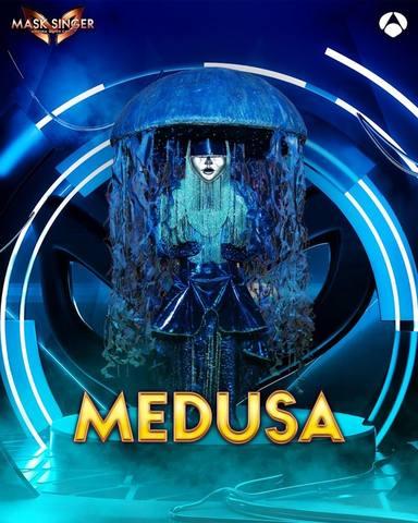 Medusa, una de las máscaras de Mask Singer 2