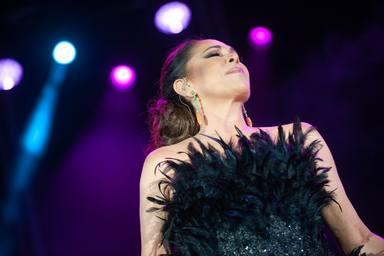 Concierto de Isabel Pantoja en Jerez de la Frontera en el festival Tio Pepe