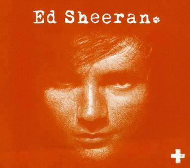 Portada de +, el álbum debut que Ed Sheeran lanzó en 2011