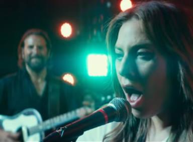 """Lady Gaga,Bradley Cooper, música y cine en """"A star is born"""""""