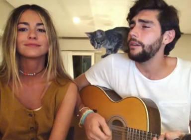 Álvaro Soler y Sofía Ellar pareja, también, musical