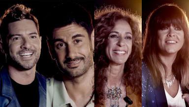 David Bisbal, Melendi, Rosario Flores y Vanesa Martín en 'La Voz Kids'