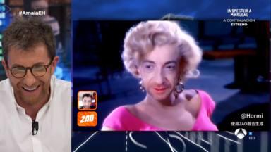 Pablo Motos como Marilyn Monroe en 'El Hormiguero'
