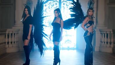 """Ariana Grande, Miley Cyrus y Lana Del Rey estrenan """"Don't Call Me Angel"""""""
