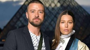 El tremendo susto de Justin Timberlake y Jessica Biel a la entrada de un evento de moda