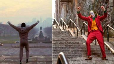 ¿Qué escaleras son más famosas, las de Rocky o las del Joker?