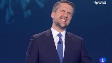 La divertida pillada a Carlos Franganillo en los informativos de TVE que pronto se convirtió en un meme