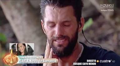 La llamada de Carla Blanco a Barranco que le dejó sin palabras en Supervivientes