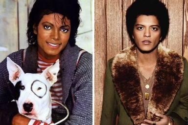 Bruno Mars podria ser fill de... Michael Jackson ?