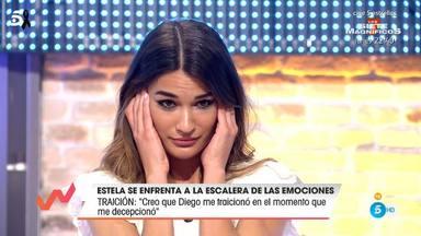 Estela Grande se sincera en la escalera de las emociones de Viva la vida