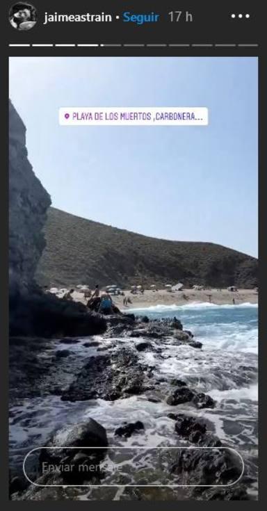 Lidia Torrent y Jaime Astrain se reencuentran tras la cuarentena en Almería