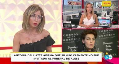 María Patiño desmiente a Antonia DellAtte