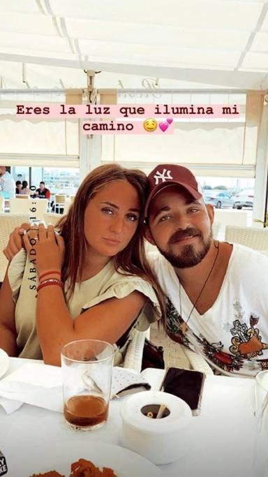 La declaración de amor de Rocío Flores a su hermano David