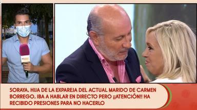 Carmen Borrego marido hija expareja