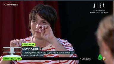 """Silvia Abril, muy emocionada, revela cómo vivió el paso de Jordi Sánchez por la UCI: """"Le hablaba"""""""
