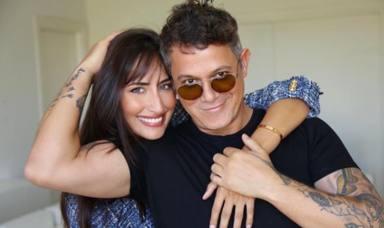 Alejandro Sanz y Rachel Valdés, idílico atardecer en el cielo de Madrid: la romántica imagen de la pareja