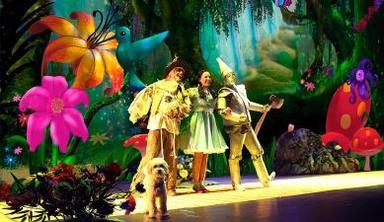 Imagen de la película 'El Mago de Oz'