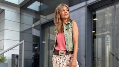 Gema López ultima su nuevo proyecto en el mundo de la moda y es fotografiada 'con las manos en la masa'