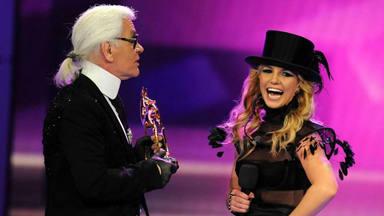 Karl Lagerfeld y Britney