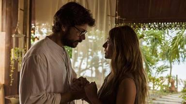 El Profesor (Álvaro Morte) y Raquel Murillo (Itziar Ituño) en la tercera temporada de 'La casa de papel'