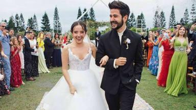 La boda internacional del cantante Camilo y Evaluna, hija de Ricardo Montaner
