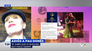 Luz Casal última conversación con Pau Donés