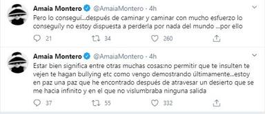 Amaia Montero encuentra la paz tras atravesar un largo desierto