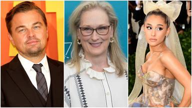 DiCaprio, Ariana Grande y Meryl Streep, juntos en el cine