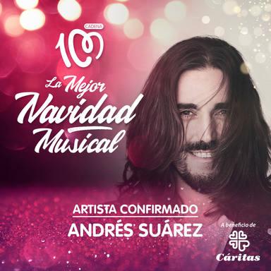 Andrés Suárez, artista confirmado La Mejor Navidad Musical