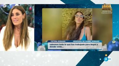 Sorpresa hermana Isabel Rábago Viva la vida