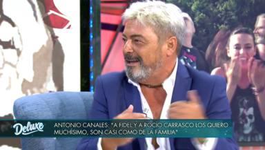 Antonio Canales, retratado, revela por qué traicionó a Rocío Carrasco y Fidel Albiac en 'Supervivientes'