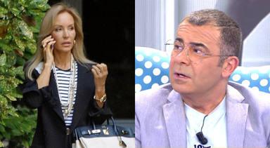 """Carmen Lomana revela qué le dijo Jorge Javier Vázquez sobre la docuserie de Rocío Carrasco: """"Nunca"""""""