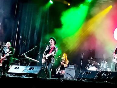 Coti durante su memorable actuación en Piélagos en un concierto con la colaboración de CADENA 100