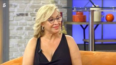 Raquel Mosquera trata de enterrar el hacha de guerra con Rocío Carrasco con un desconcertante mensaje