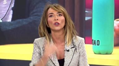 """María Patiño, sobrepasada por los acontecimientos en el 'Deluxe': """"Pido perdón a todos los espectadores"""""""