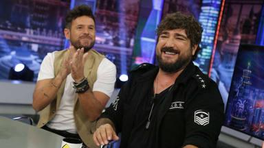 Pablo López y Antonio Orozco en 'El Hormiguero'