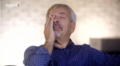 Carlos Sobera se rompe en lágrimas hablando de su mujer Patricia