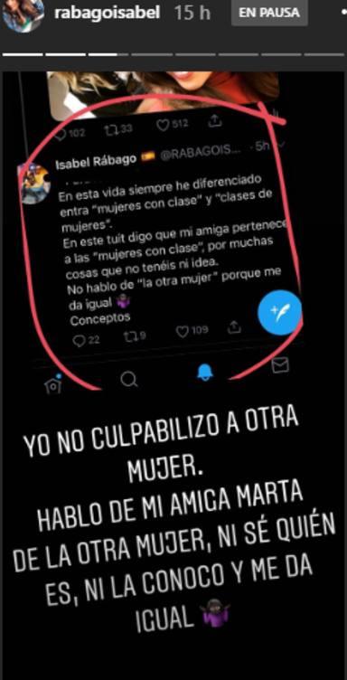 Isabel Rábago criticada por un comentario machista