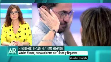 Maxim Huerta habla sobre Ana Rosa Quintana
