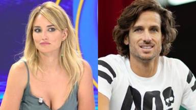 Alba Carrillo reacciona a la próxima paternidad de Feliciano López