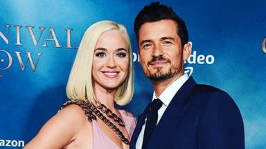 Orlando Bloom y Katy Perry de gala