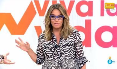 Toñi Moreno se somete al reto de adelgazar en 'Viva la vida' y muestra su peso