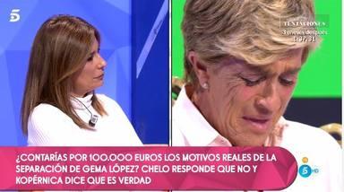 La traición de Chelo García Cortés a Gema López por 400 euros