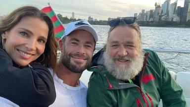 Elsa Pataky y Chris Hemsworth rodeados de amigos en su fin de semana más personal y deportivo