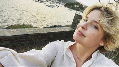 La presentadora Tania Llasera durante sus vacaciones